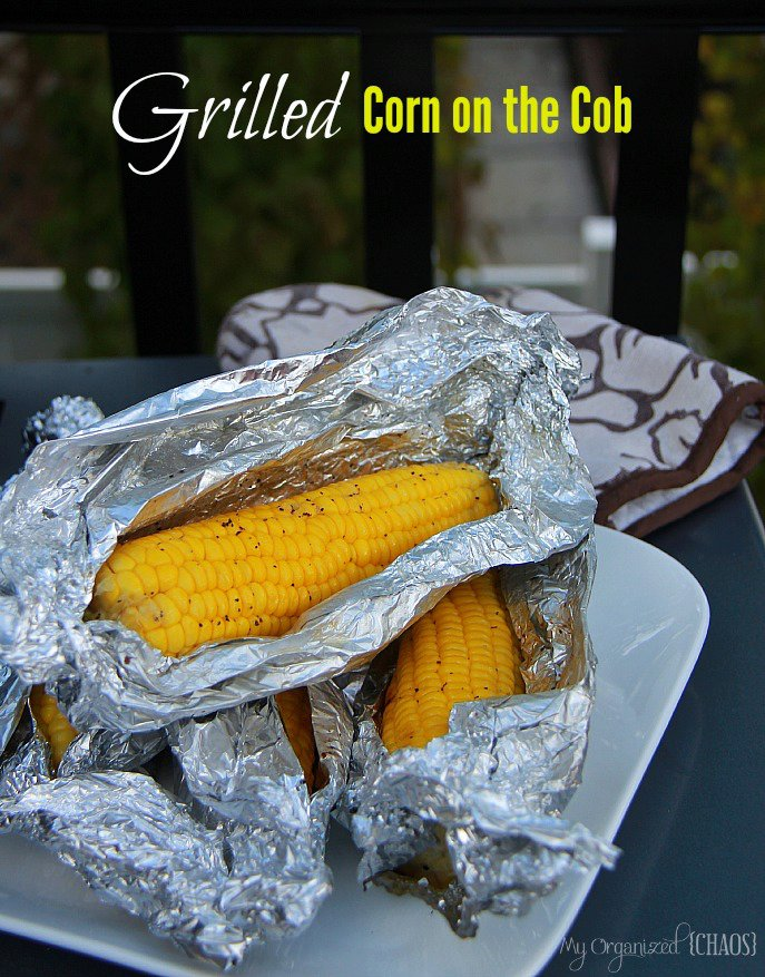 Fantastic Grilled Corn on the Cob