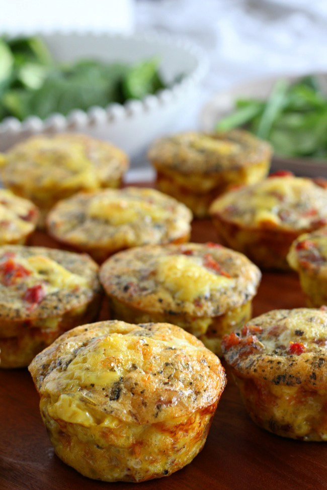 Sausage Pizza Egg Muffins {Paleo & Whole30}