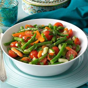 Fresh Green Bean Salad Recipe