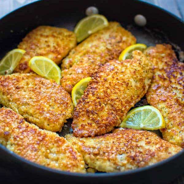 Easy Parmesan Crusted Chicken