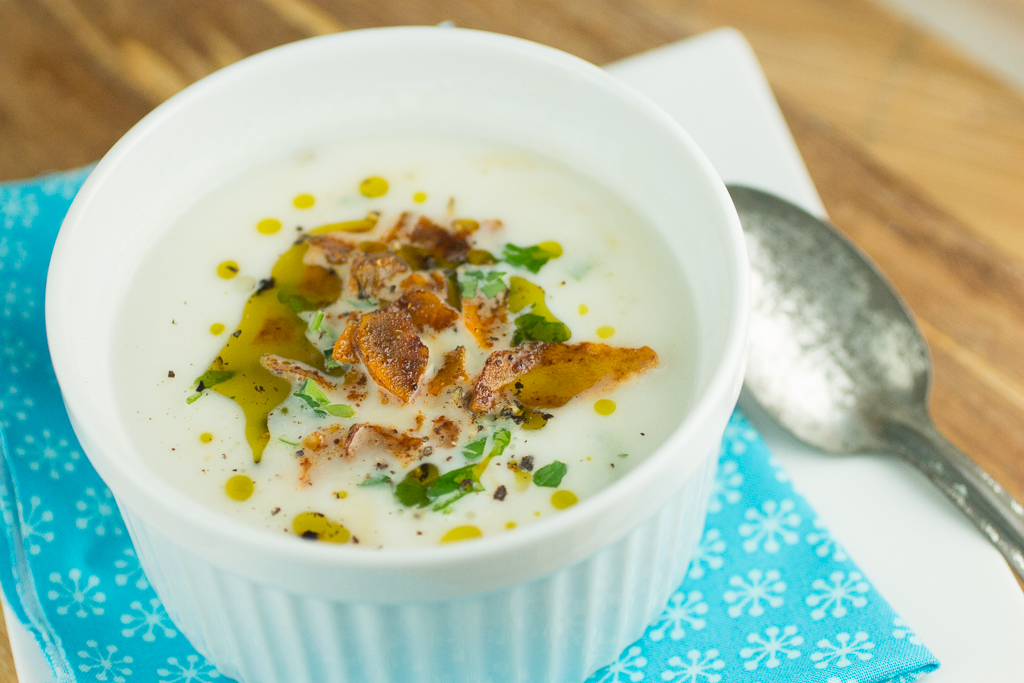 Creamy Cauliflower and Root Vegetable Soup