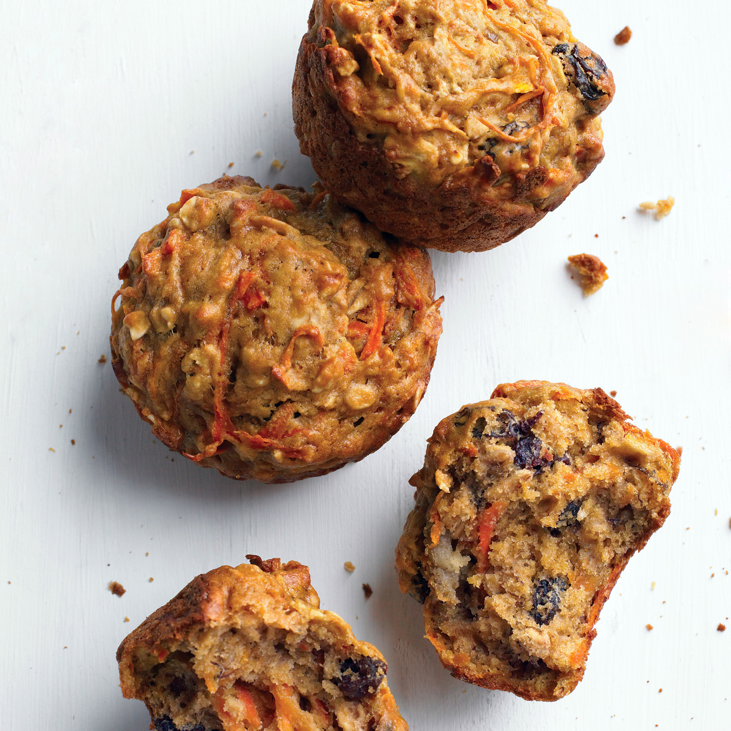 Morning Glory Muffins with Banana