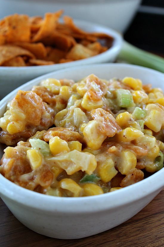 Hot Corn Salad
